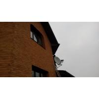Установка спутникового телевидения в Борисполе на 4 тв